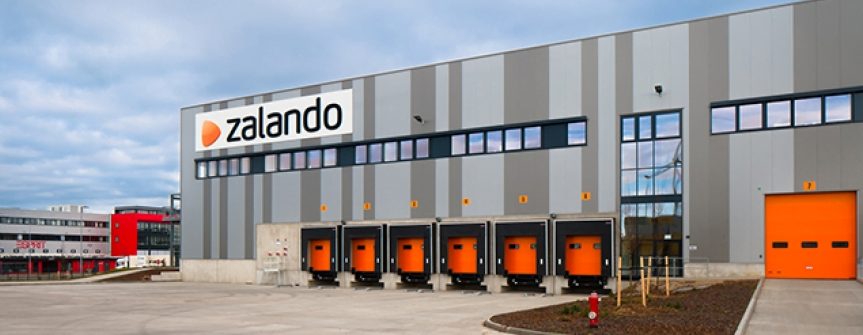 'Nederlands distributiecentrum voor Zalando'